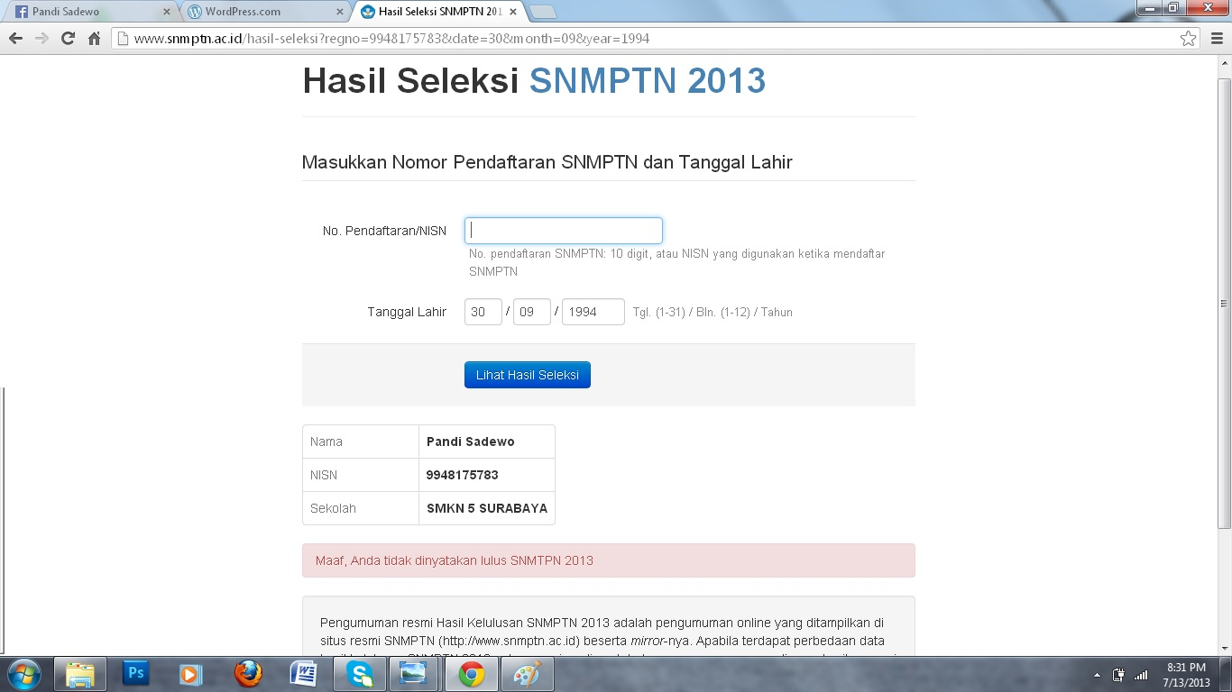 Pembahasan Soal Sbmptn Ipa 2014 Download Soal Dan Pembahasan Sbmptn Tkpa Matematika 2014